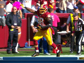 Video - Washington Redskins linebacker Brian Orakpo scores pick six