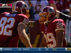 Video - Washington Redskins running back Roy Helu 14-yard TD run