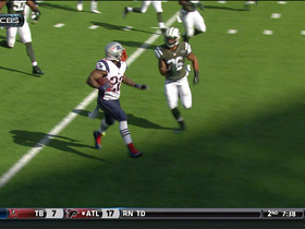 Video - Stevan Ridley 17-yard touchdown run