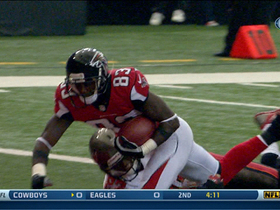 Video - Atlanta Falcons wide receiver Harry Douglas' 37-yard touchdown