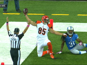 Video - Cincinnati Bengals tight end Tyler Eifert 32-yard touchdown catch