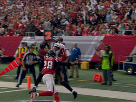 Video - Tampa Bay Buccaneers wide receiver Vincent Jackson's 1-yard touchdown reception