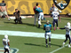 Watch: Justin Blackmon runs over sideline official