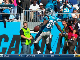 Video - Carolina Panthers wide receiver Steve Smith 19-yard touchdown catch