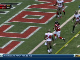 Video - Atlanta Falcons running back Jacquizz Rodgers' second touchdown