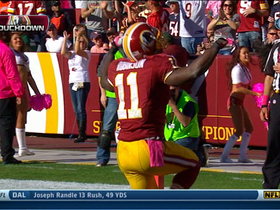 Video - Washington Redskins QB Robert Griffin III 45-yard TD pass to Aldrick Robinson