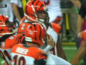 Video - Cincinnati Bengals kicker Mike Nugent 54-yard game-winning field goal