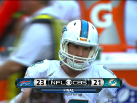 Video - Buffalo Bills stop the Miami Dolphins on 4th down