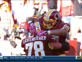 Video - Roy Helu scores 3rd TD of game