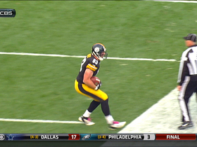 Video - Pittsburgh Steelers tight end Heath Miller 3-yard touchdown