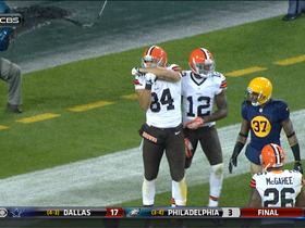 Video - Cleveland Browns tight end Jordan Cameron 2-yard TD catch