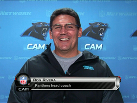 Video - 'The Coaches Show': Rivera happy with Panthers' improvement