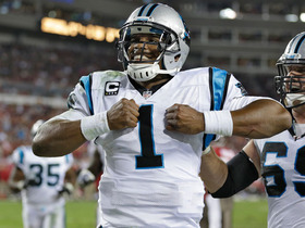 Video - Carolina Panthers quarterback Cam Newton 19-yard run