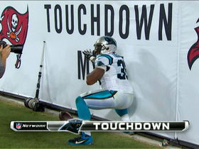 Video - Carolina Panthers running back Mike Tolbert 3-yard touchdown