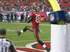 Video - Tampa Bay Buccaneers tight end Tim Wright 10-yard touchdown