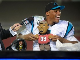 Video - Cam Newton having the most fun