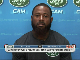 Video - New York Jets wide receiver Jeremy Kerley on surprise success