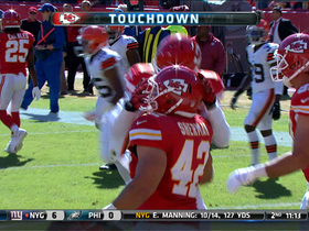Video - Kansas City Chiefs running back Anthony Sherman 12-yard touchdown catch