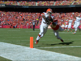 Video - Cleveland Browns quarterback Jason Campbell throws second touchdown