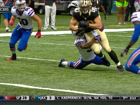 Video - New Orleans Saints tight end Jimmy Graham 13-yard touchdown reception
