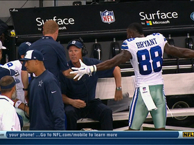 Video - Dallas Cowboys wide receiver Dez Bryant gets heated on the sideline