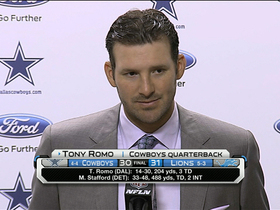 Video - Tony Romo: Dez Bryant puts the team first