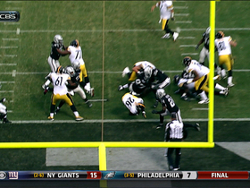 Video - Pittsburgh Steelers running back Le'Veon Bell 2-yard TD run