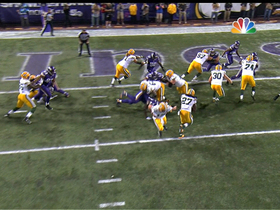 Video - Green Bay Packers running back Eddie Lacy 1-yard TD