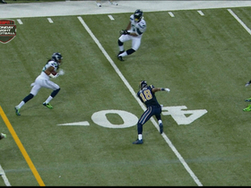 Video - St. Louis Rams quarterback Kellen Clemens' second interception