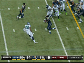 Video - St. Louis Rams running back Zac Stacy 18-yard run