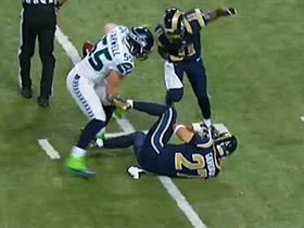 Video - St. Louis Rams wide receiver Tavon Austin gets tripped up