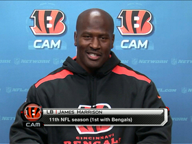 Video - Cincinnati Bengals linebacker James Harrison's biggest fear