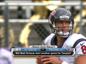 Video - So long Houston Texans quarterback Matt Schaub?
