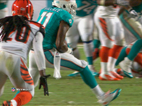 Video - Miami Dolphins wide receiver Mike Wallace 40-yard catch