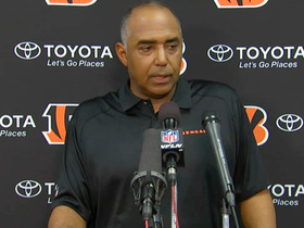 Video - Cincinnati Bengals head coach Marvin Lewis disagrees with call; Dean Blandino explains