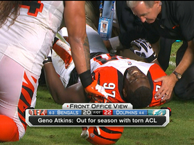 Video - Moving on without Cincinnati Bengals defensive tackle Atkins