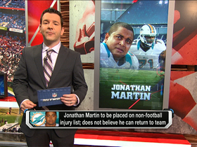 Video - Johnathan Martin not comfortable returning to the Miami Dolphins