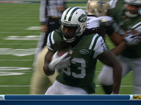 Video - New York Jets running back Chris Ivory goes in untouched