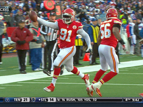 Video - Kansas City Chiefs linebacker Tamba Hali returns fumble for TD