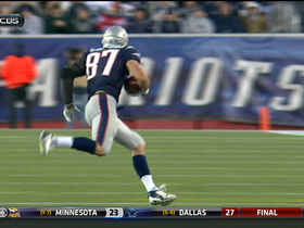Video - New England Patriots tight end Rob Gronkowski 34-yard reception