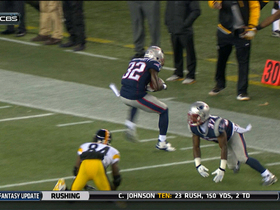 Video - Pittsburgh Steelers quarterback Ben Roethlisberger's pass intercepted by McCourty