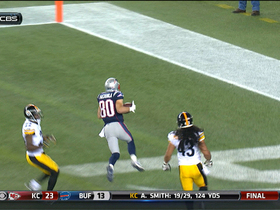 Video - New England Patriots wide receiver Danny Amendola 34-yard TD reception