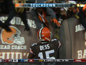 Video - Cleveland Browns wide receiver Davone Bess 20-yard touchdown