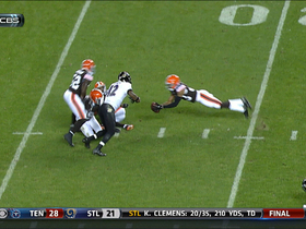 Video - Cleveland Browns cornerback Joe Haden intercepts Joe Flacco's pass