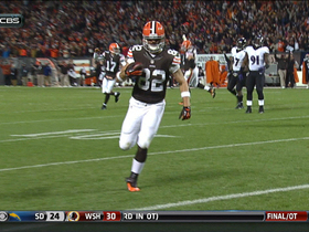 Video - Cleveland Browns tight end Barnidge 4-yard touchdown