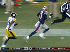 Video - New England Patriots wide receiver Aaron Dobson 81-yard TD reception