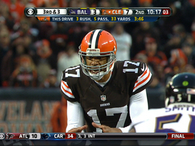 Video - Week 9: Baltimore Ravens vs. Cleveland Browns highlights