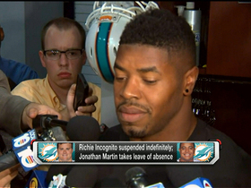 Video - Miami Dolphins defensive end Cameron Wake speaks on team's locker room after Incognito suspension