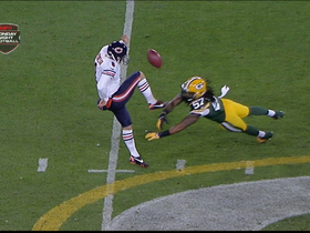 Video - Packers to Bears punt, recover ball