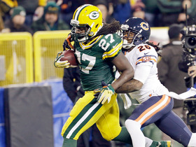 Video - Green Bay Packers running back Eddie Lacy 56-yard gain